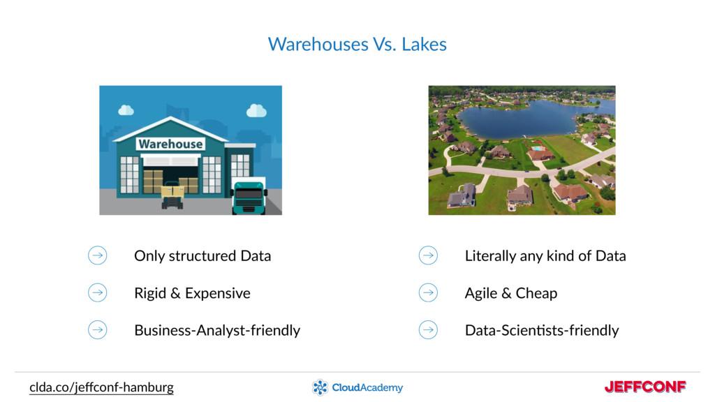 Warehouses Vs. Lakes clda.co/jeffconf-hamburg On...