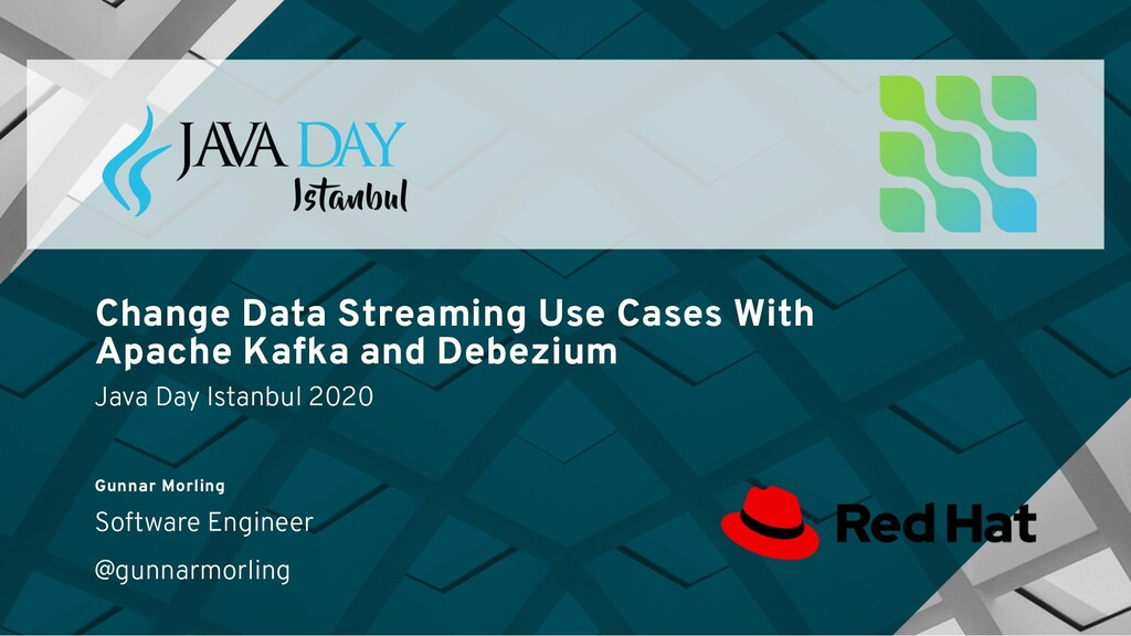 Change Data Streaming Use Cases With Apache Kaf...