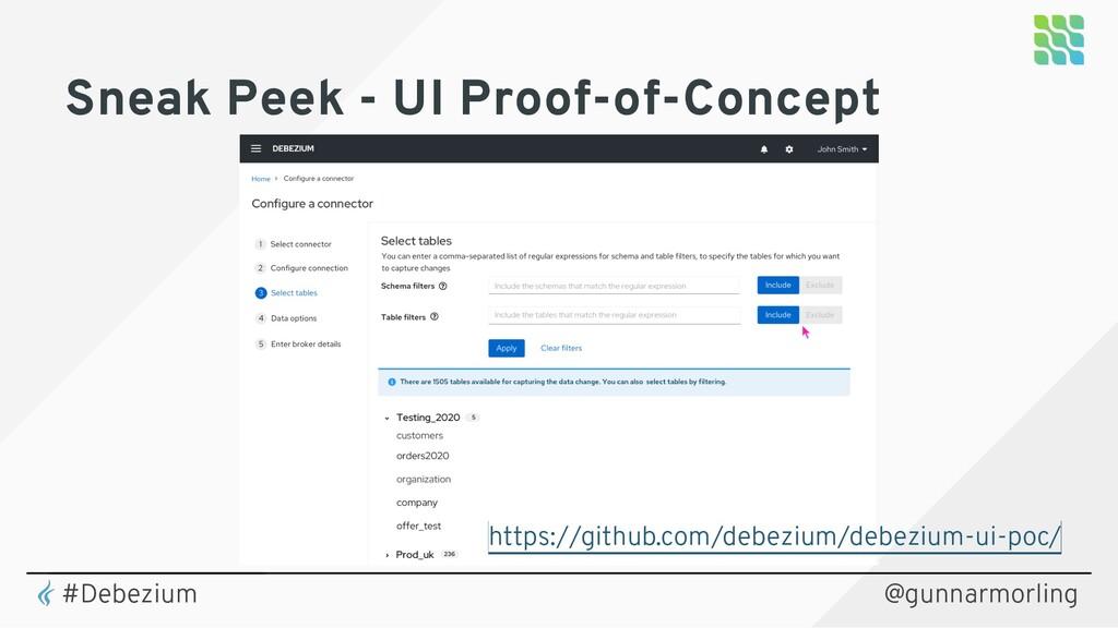 @gunnarmorling Sneak Peek - UI Proof-of-Concept...
