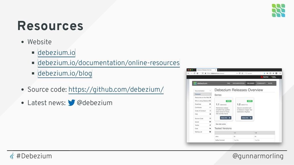 Resources Website Source code: Latest news: @de...