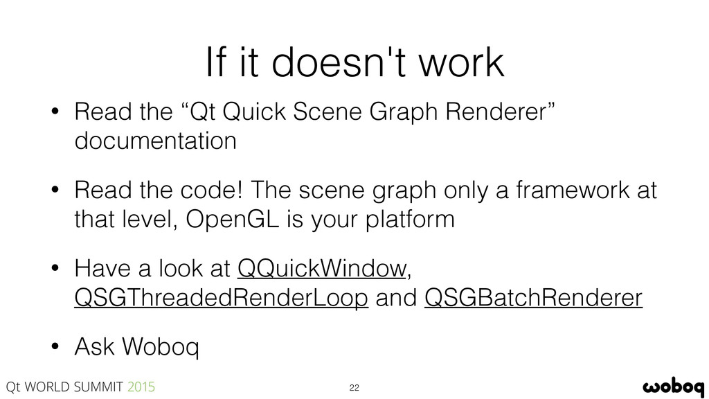 "If it doesn't work • Read the ""Qt Quick Scene G..."