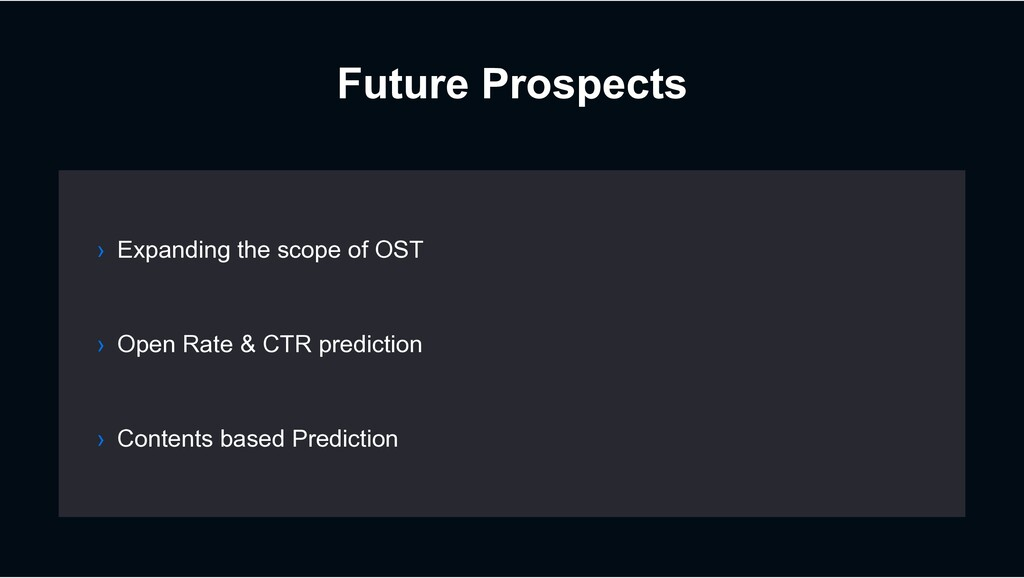 Future Prospects › Open Rate & CTR prediction ›...