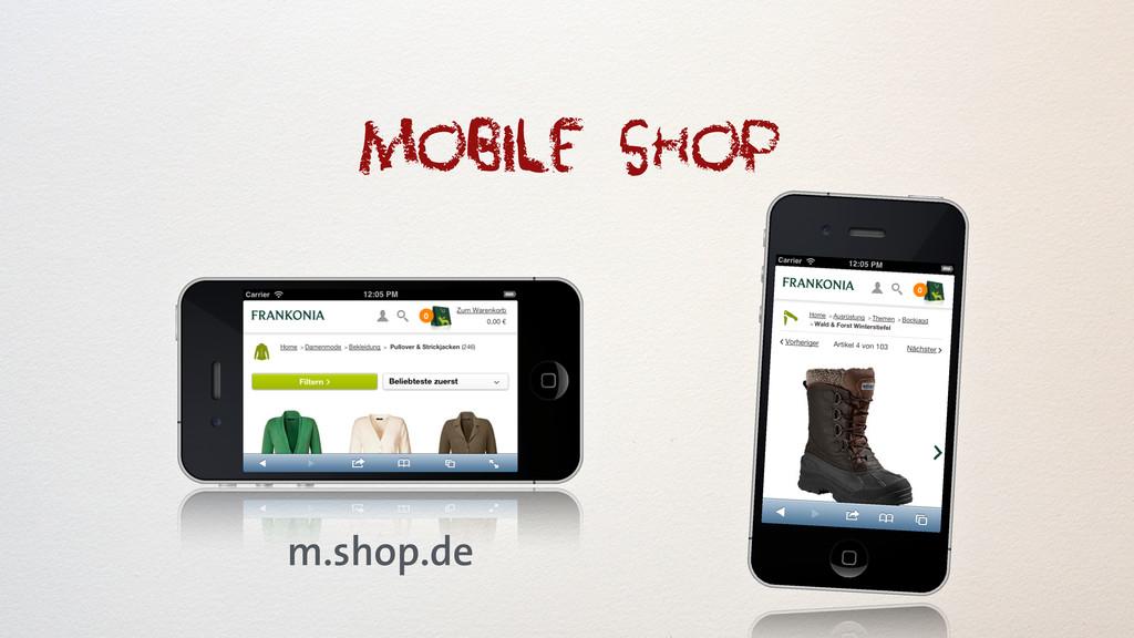 mobile shop m.shop.de