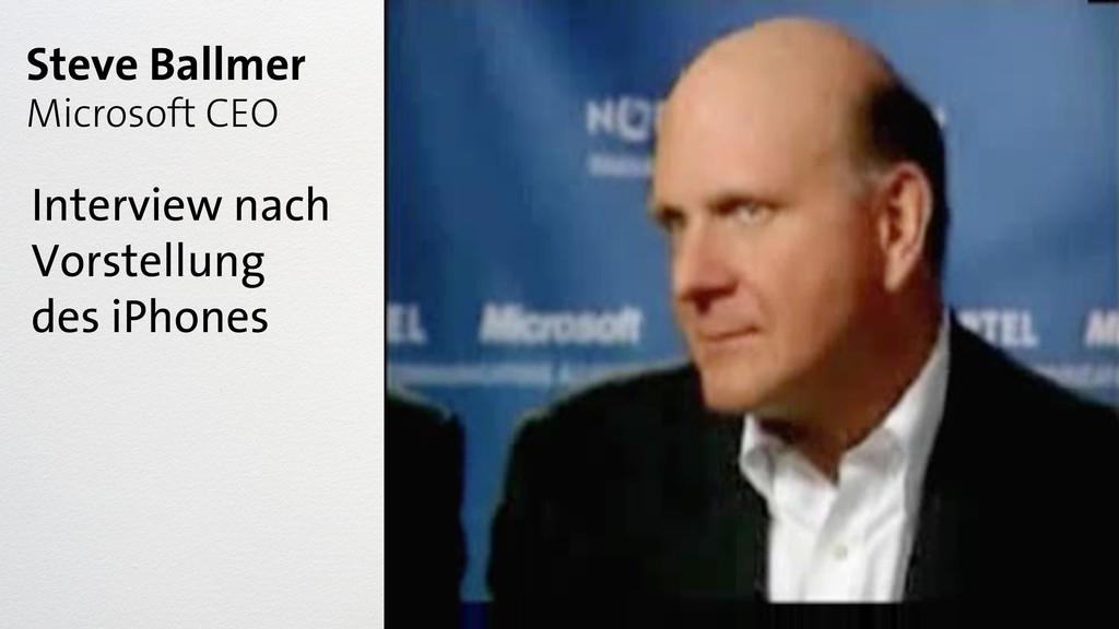 Steve Ballmer Microsoft CEO Interview nach Vors...