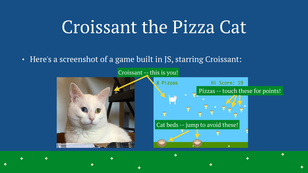 Croissant -- this is you! Croissant the Pizza C...