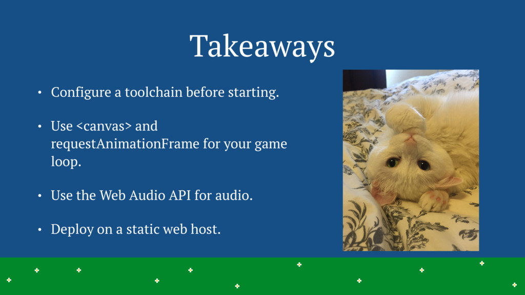 Takeaways • Configure a toolchain before starti...