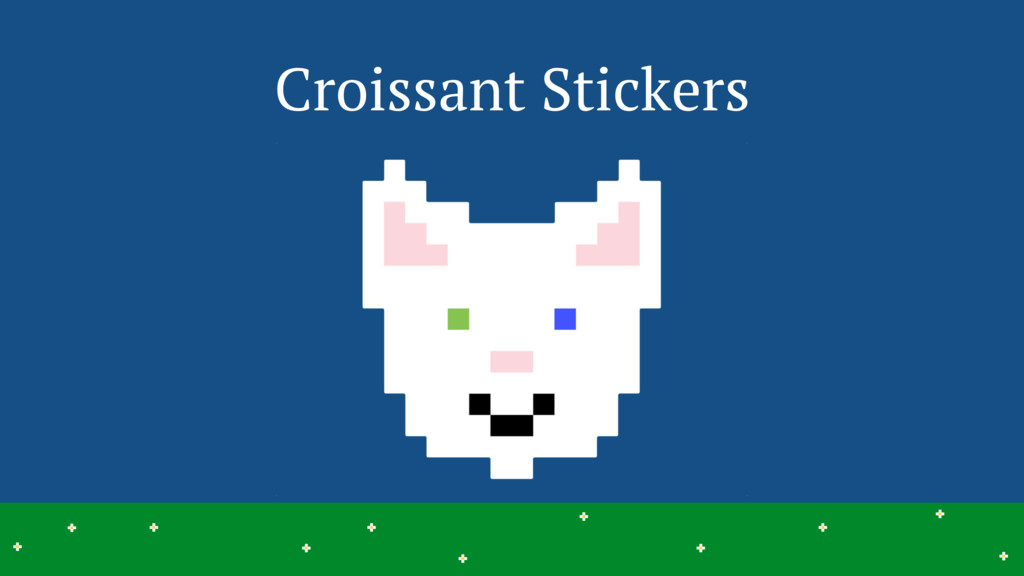 Croissant Stickers 35 > > > > > > > > > > > > >...