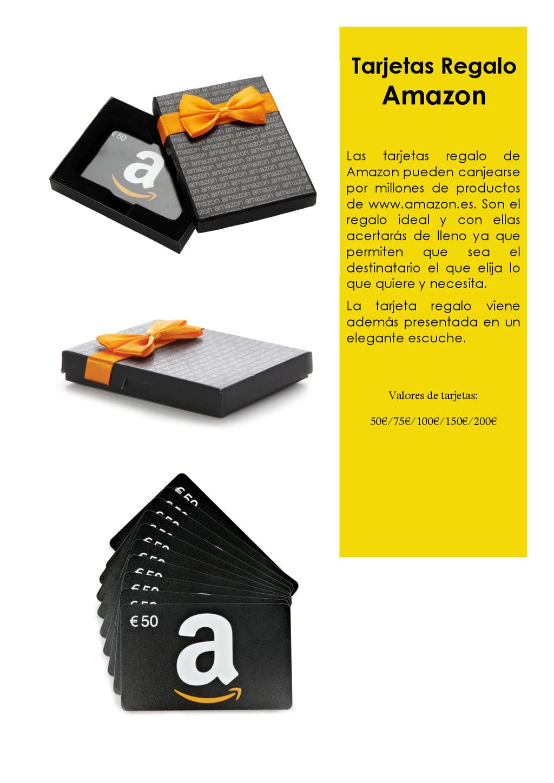 Tarjetas Regalo Amazon Las tarjetas regalo de A...