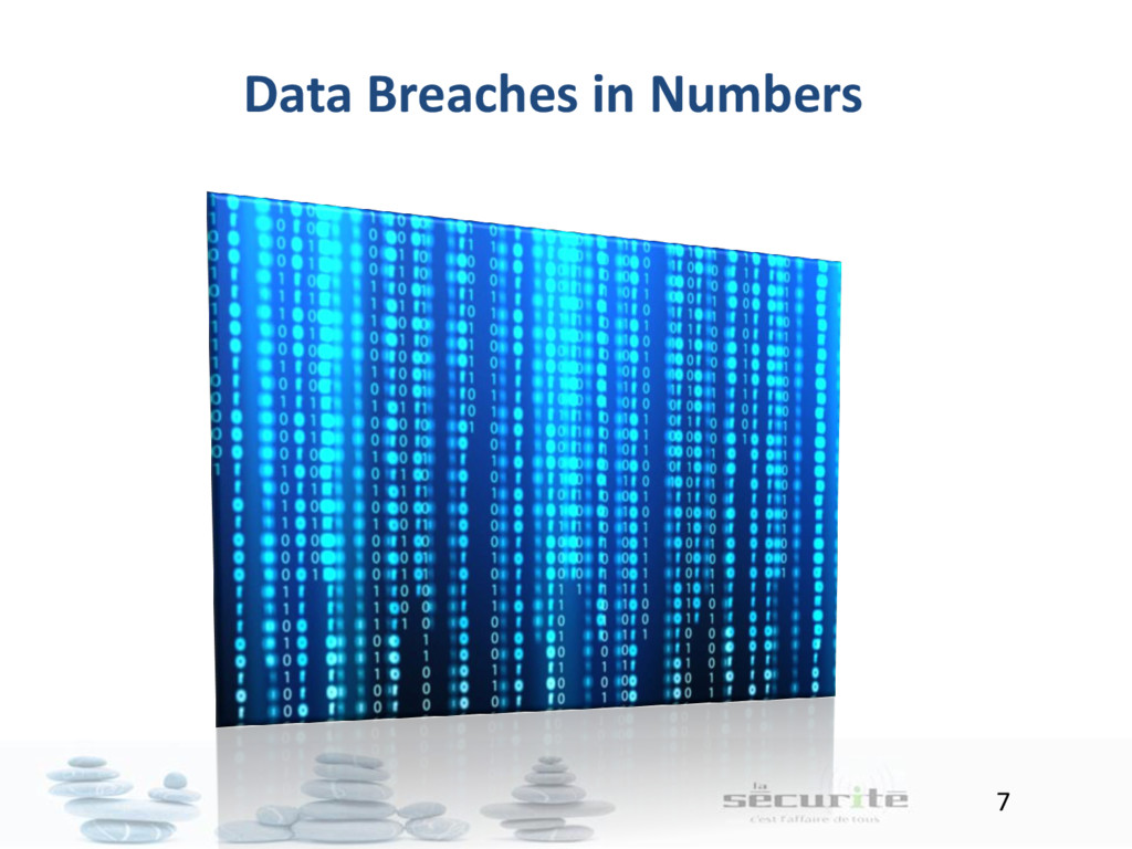 7 Data Breaches in Numbers