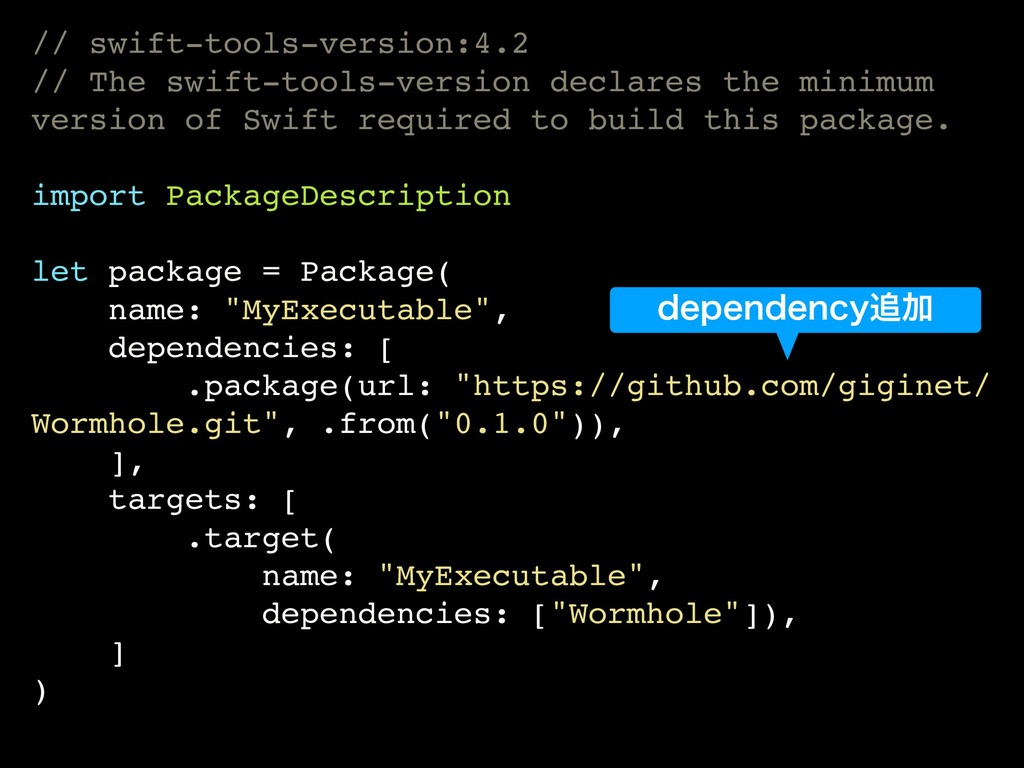 // swift-tools-version:4.2 // The swift-tools-v...
