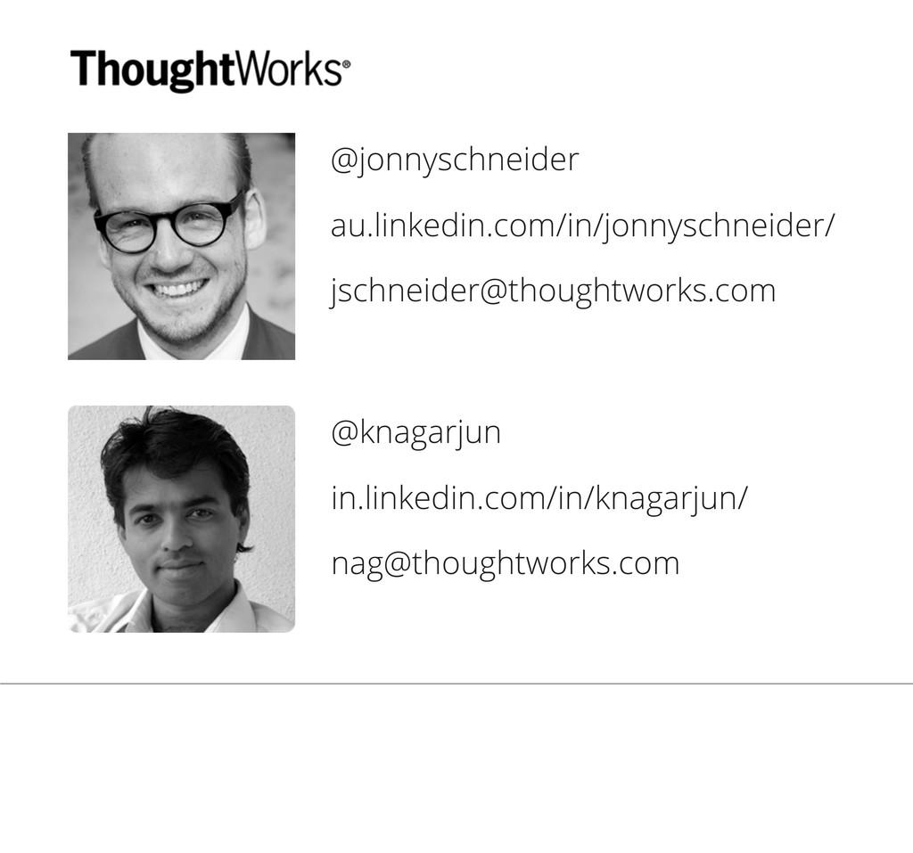 @jonnyschneider au.linkedin.com/in/jonnyschneid...
