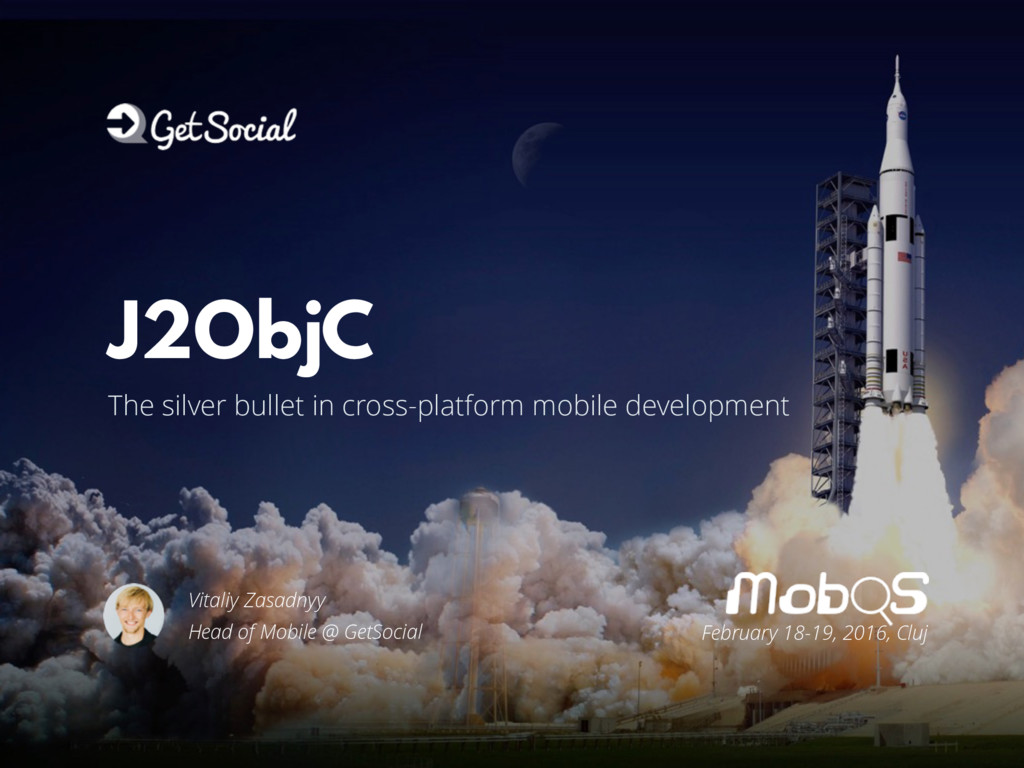 #MobOS2016 The silver bullet in cross-platform ...