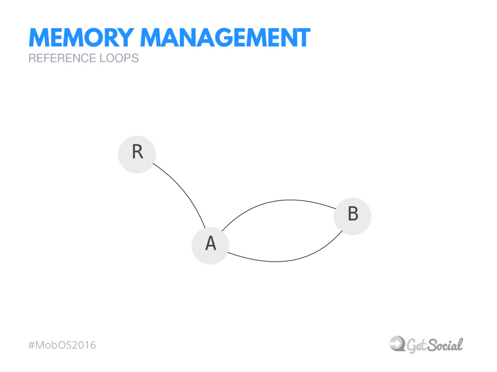 #MobOS2016 MEMORY MANAGEMENT REFERENCE LOOPS R ...
