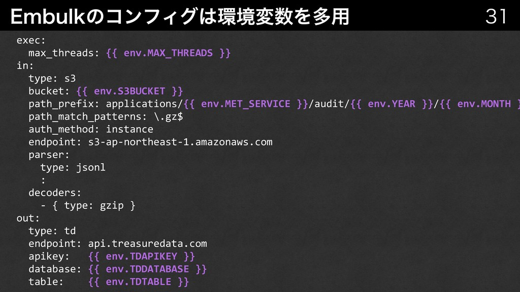 &NCVMLͷίϯϑΟάڥมΛଟ༻   exec: max_threads: {{...