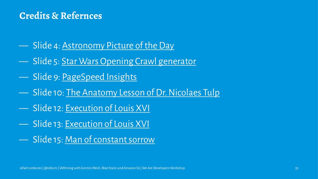 Credits & Refernces — Slide 4: Astronomy Pictur...