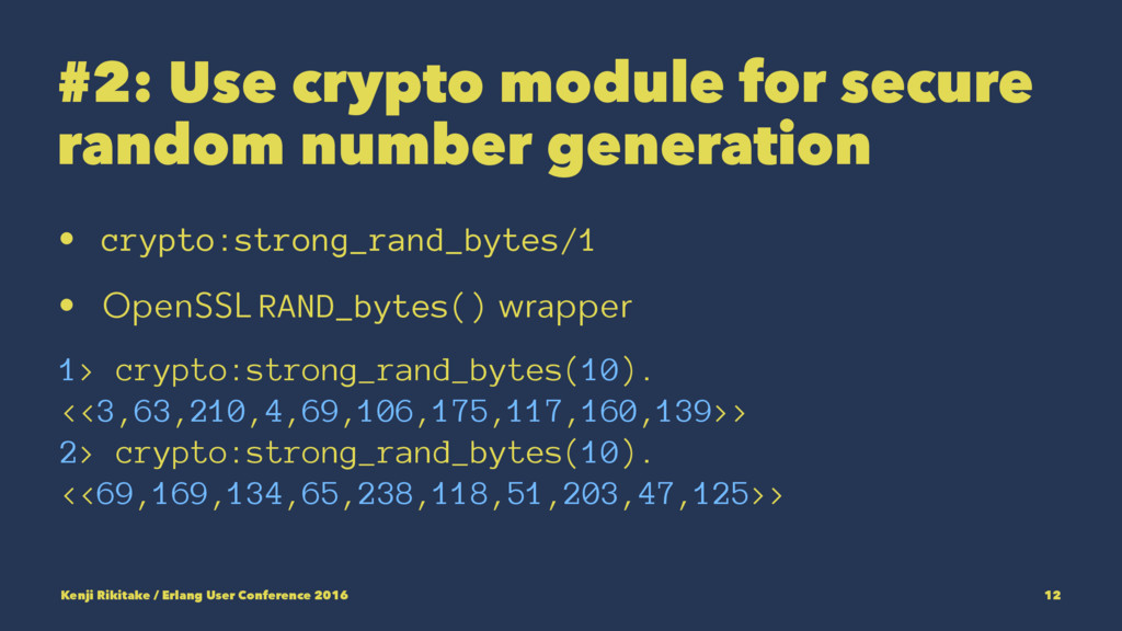 #2: Use crypto module for secure random number ...