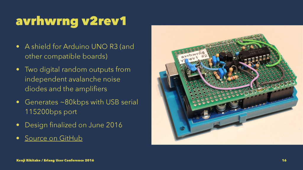 avrhwrng v2rev1 • A shield for Arduino UNO R3 (...