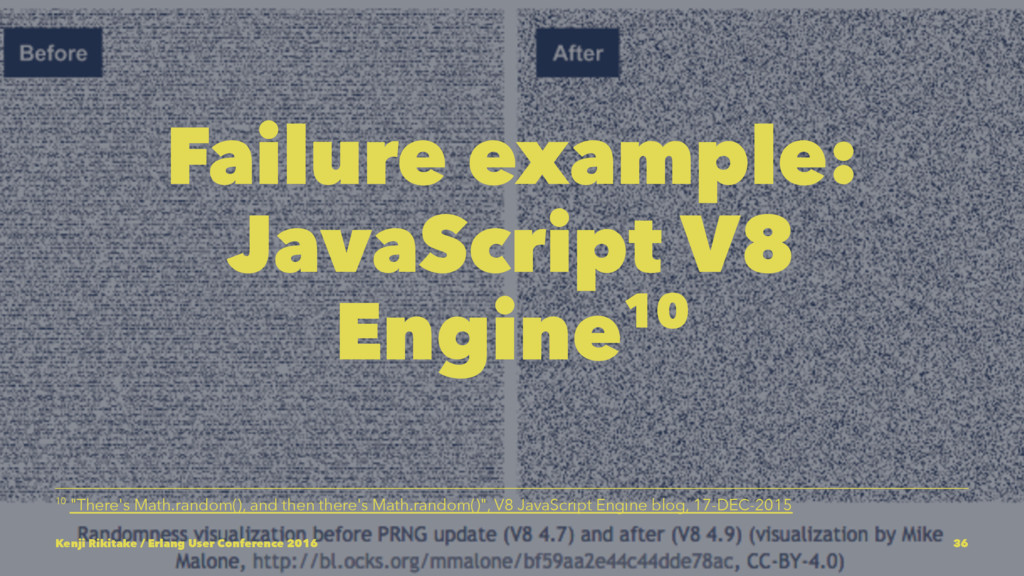 "Failure example: JavaScript V8 Engine10 10 ""The..."