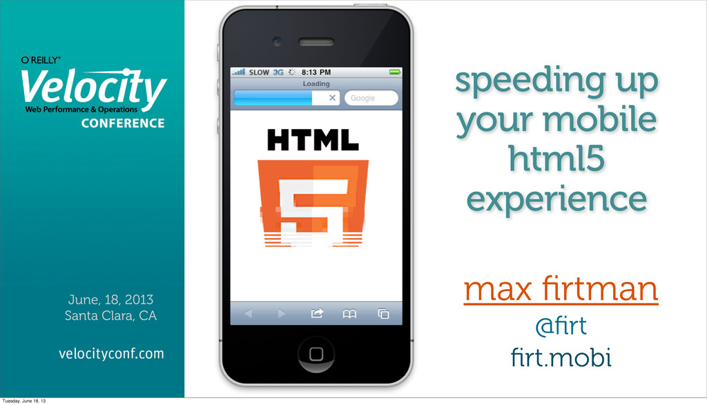 speeding up your mobile html5 experience max fir...