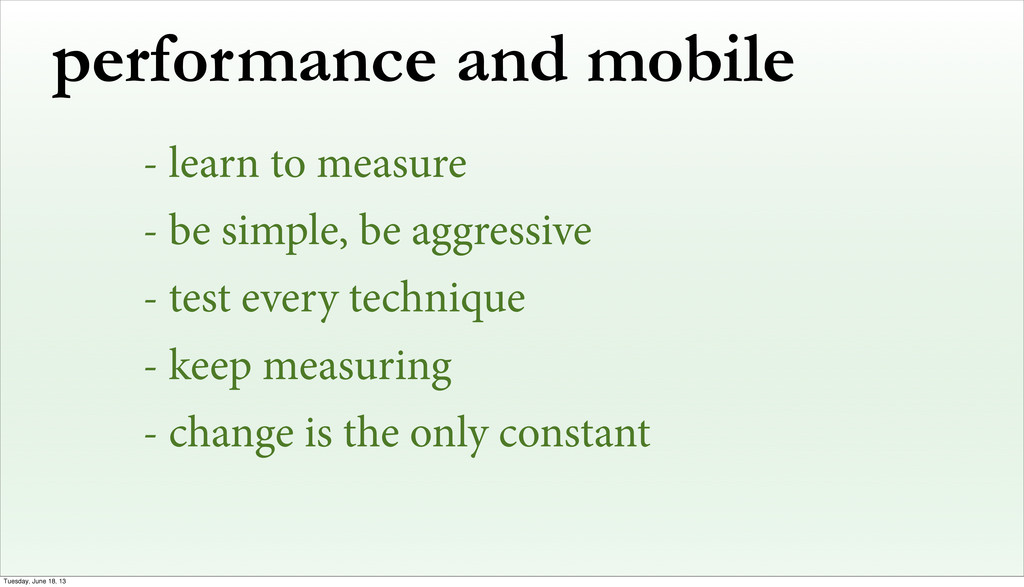 performance and mobile - learn to measure - be ...