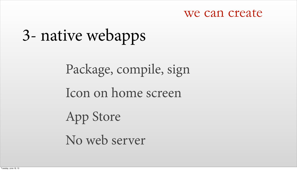 Package, compile, sign Icon on home screen App ...