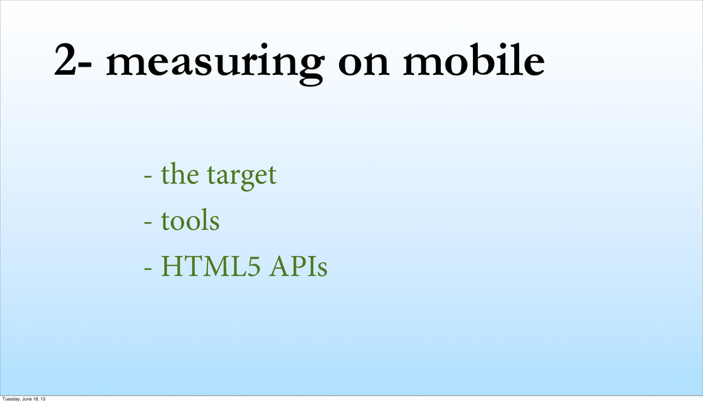 2- measuring on mobile - the target - tools - H...