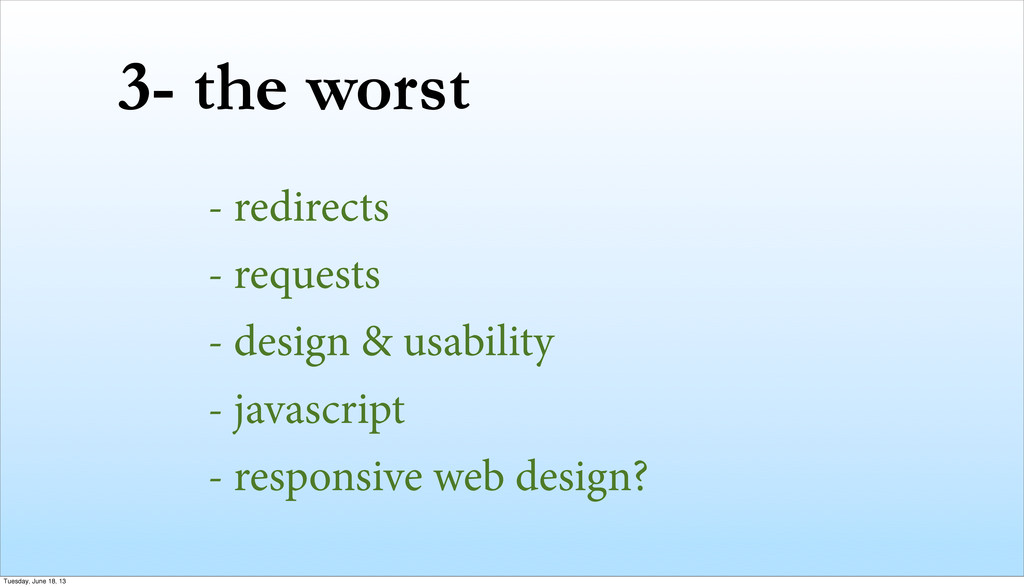 3- the worst - redirects - requests - design & ...