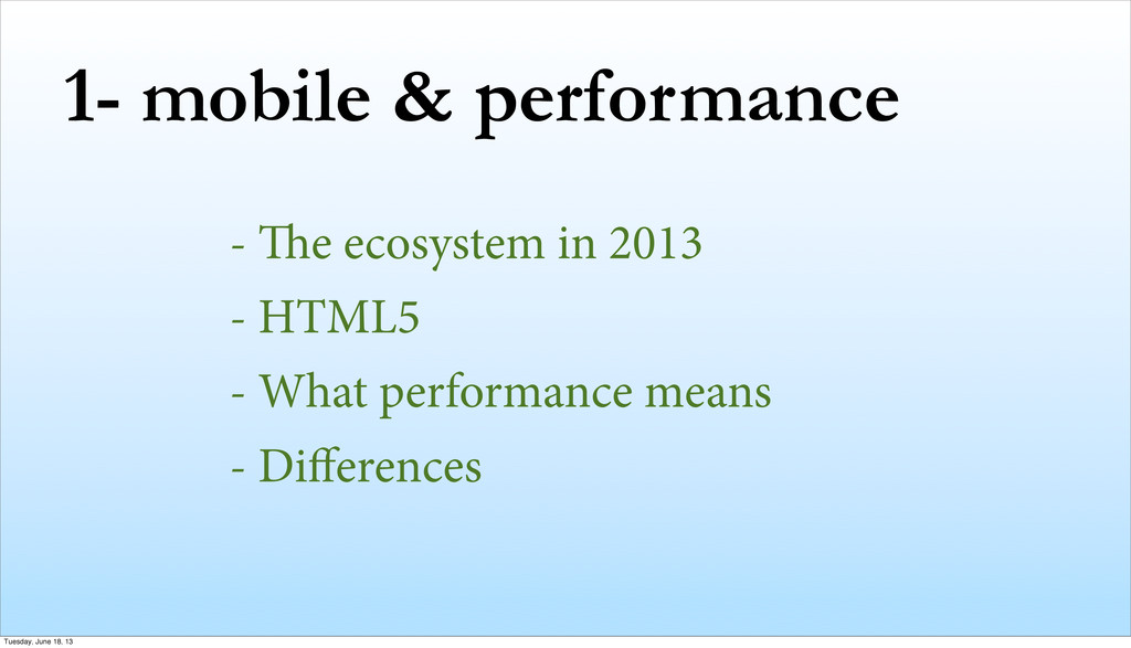 1- mobile & performance - e ecosystem in 2013 ...