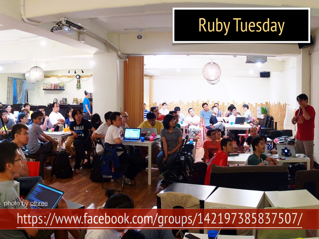 Ruby Tuesday https://www.facebook.com/groups/14...