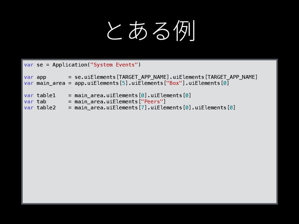 """ה֮⢽ var se = Application(""""System Events"""") var ..."""