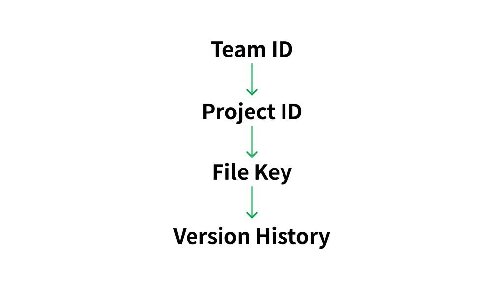 Version History File Key Project ID Team ID