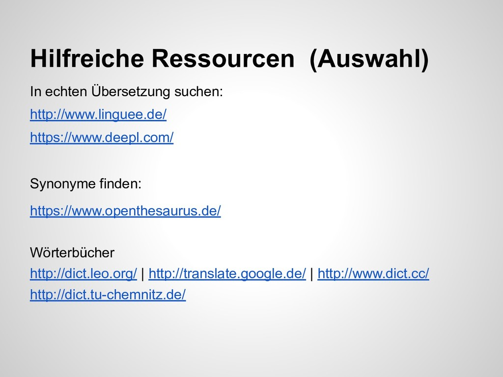In echten Übersetzung suchen: http://www.lingue...