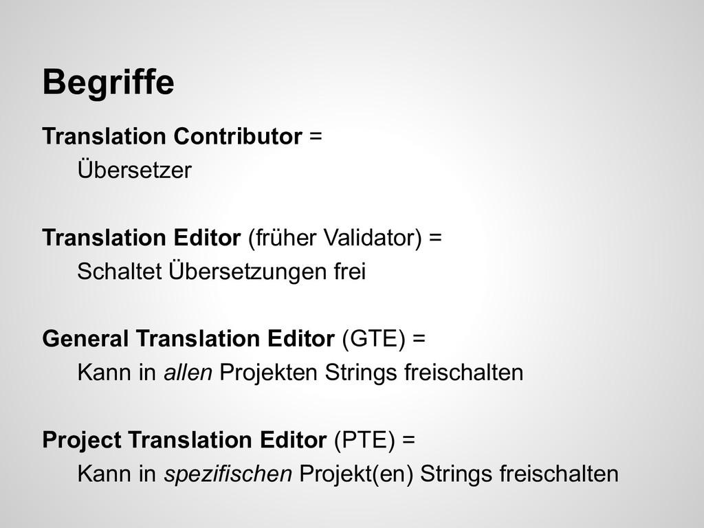 Translation Contributor = Übersetzer Translatio...