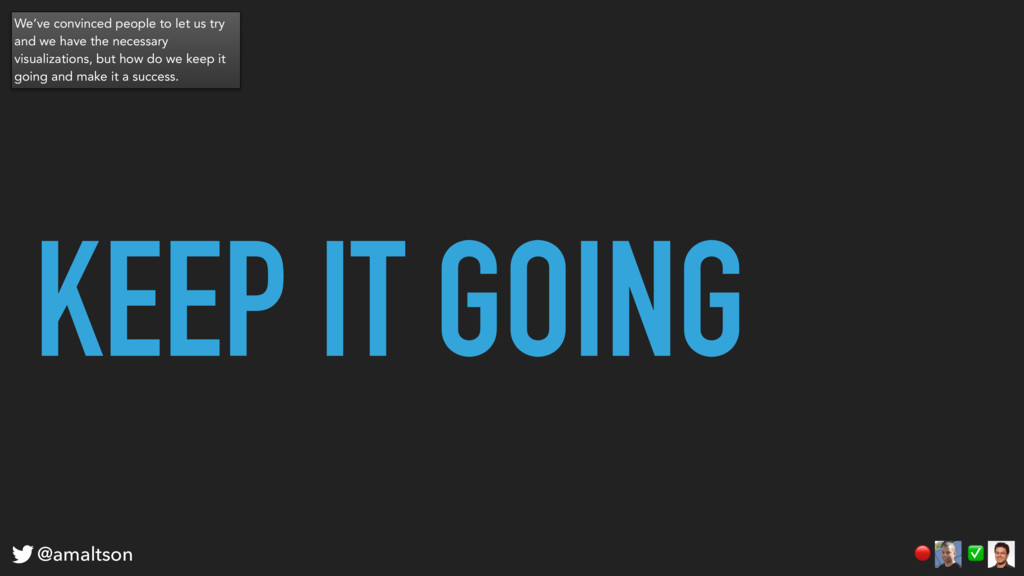 KEEP IT GOING ✅  @amaltson We've convinced peop...