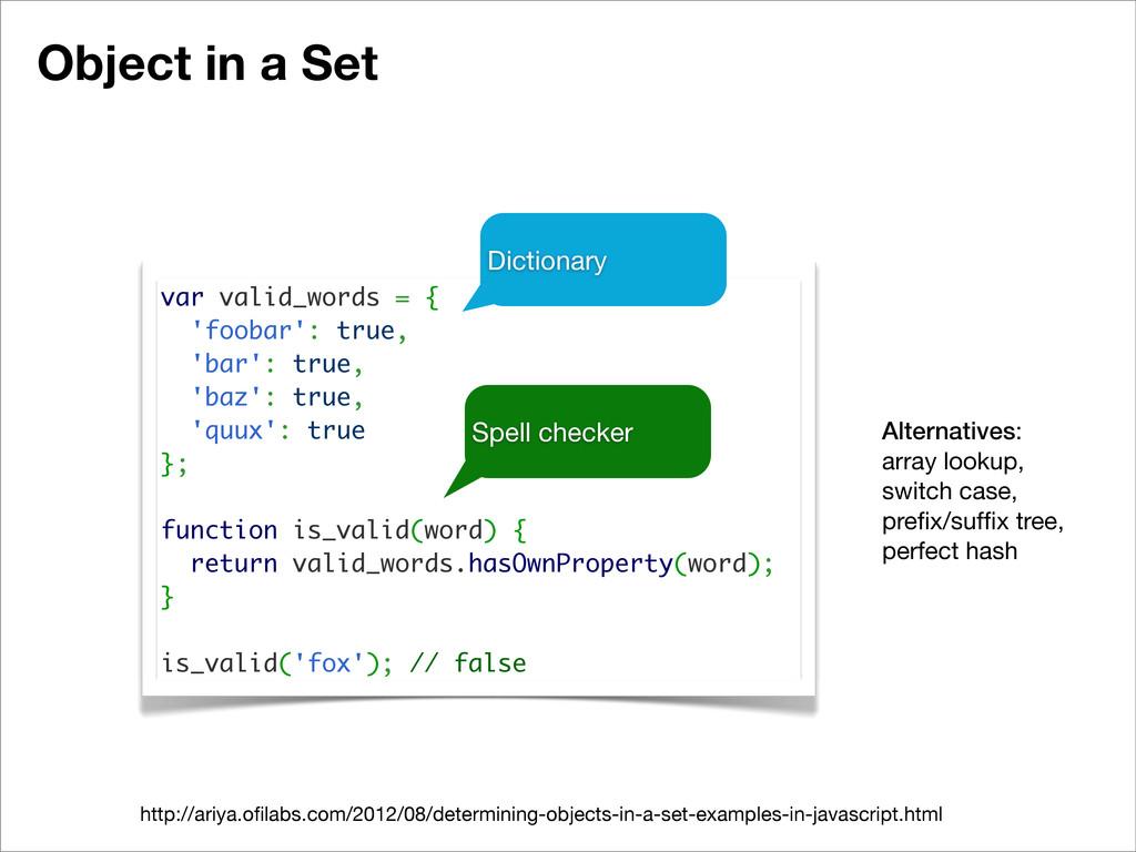 Object in a Set http://ariya.ofilabs.com/2012/08...