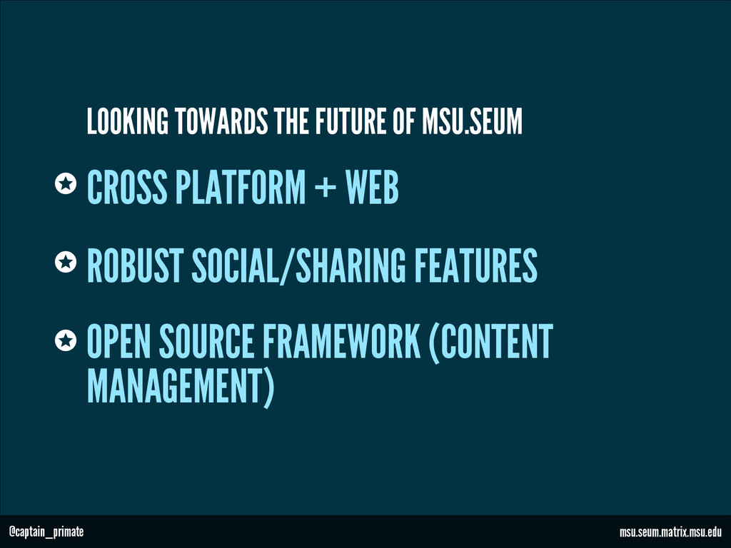 CROSS PLATFORM + WEB ROBUST SOCIAL/SHARING FEAT...