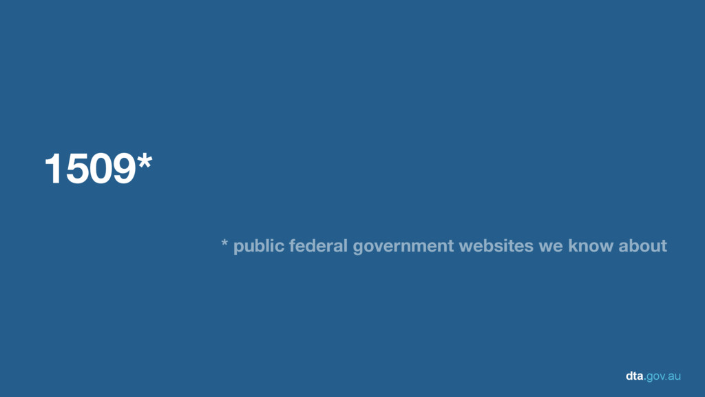 dta.gov.au 1509* * public federal government we...