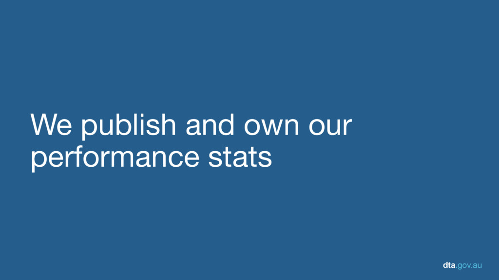 dta.gov.au We publish and own our performance s...