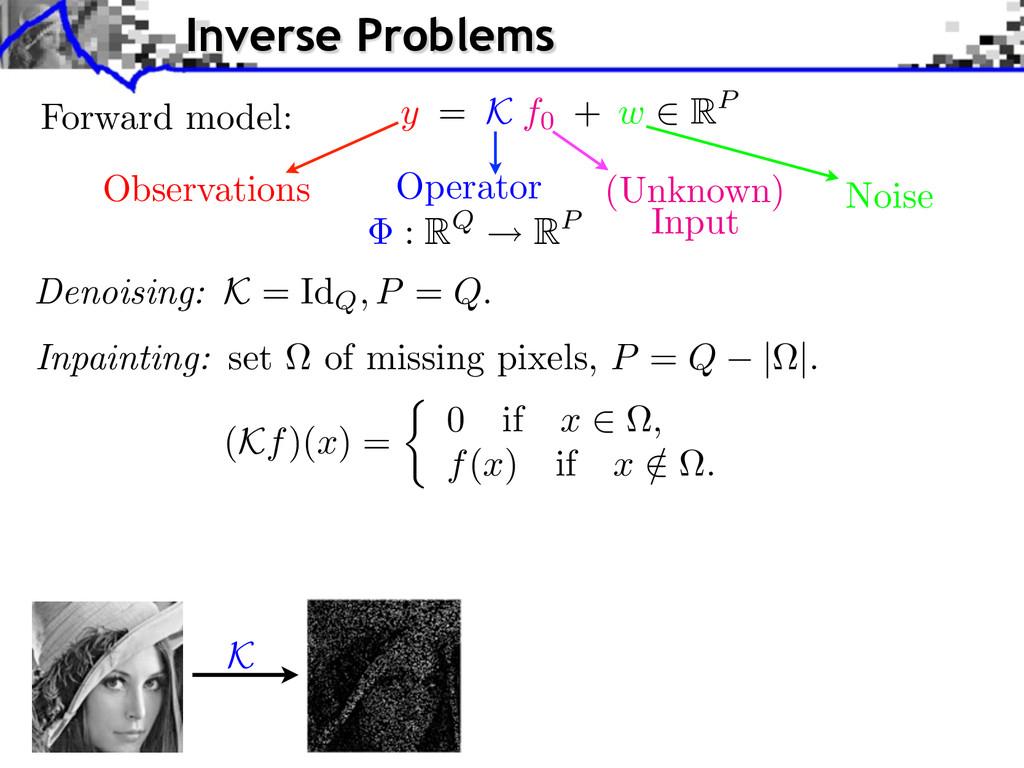 Forward model: Observations Operator Noise (Unk...