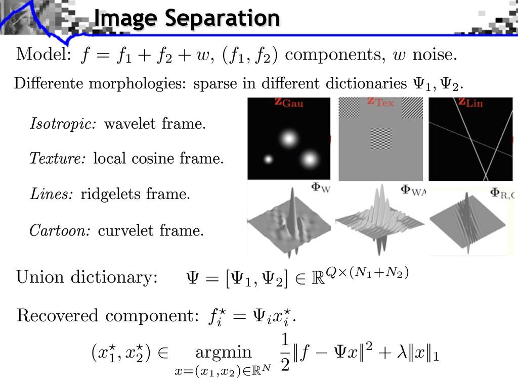 Union dictionary: (x1 , x2 ) argmin x=(x1,x2) R...