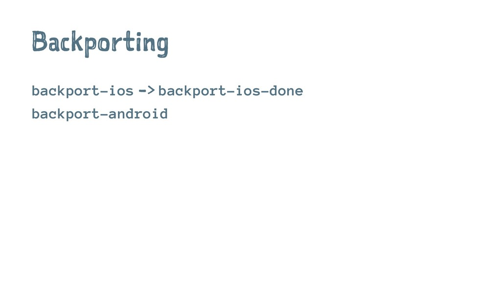 Backporting backport-ios -> backport-ios-done b...