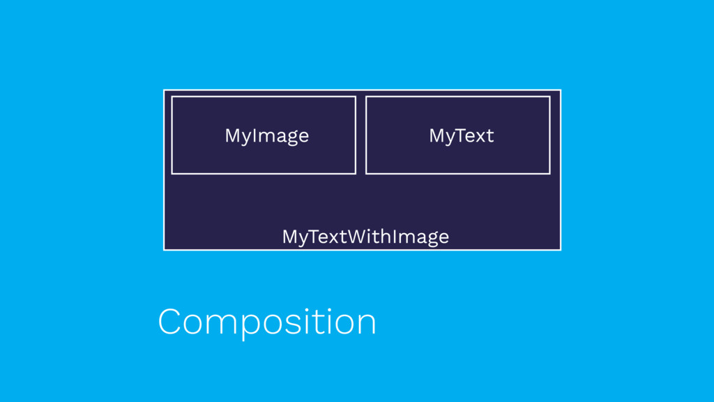 MyTextWithImage Composition MyImage MyText