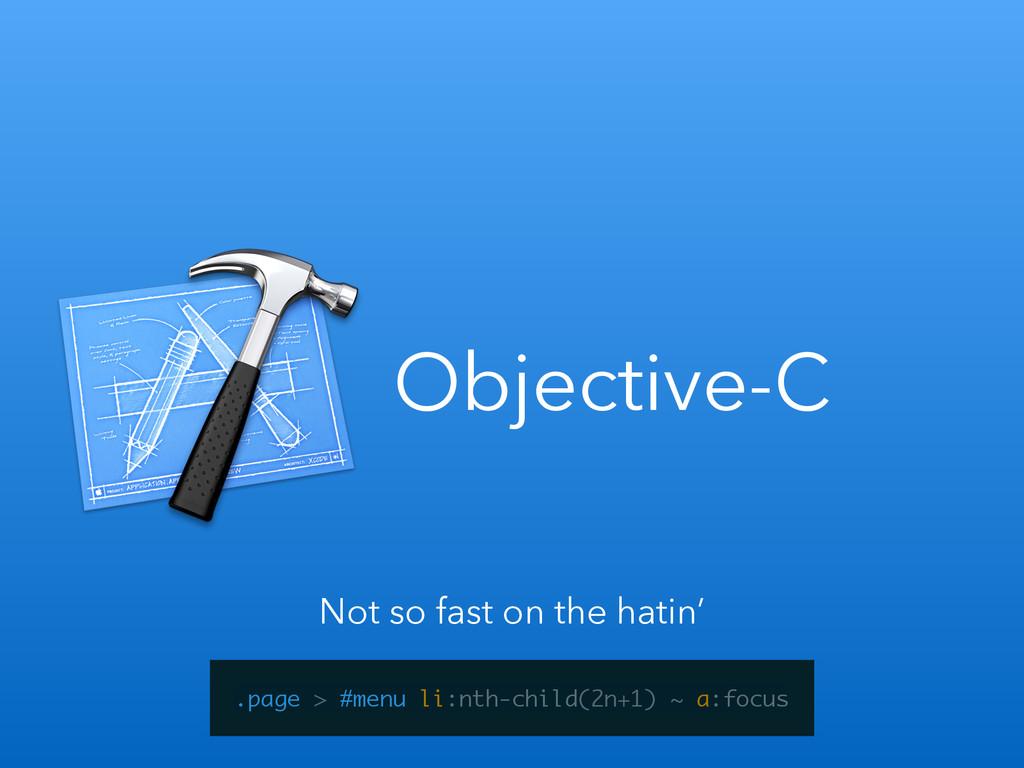 Objective-C .page > #menu li:nth-child(2n+1) ~ ...