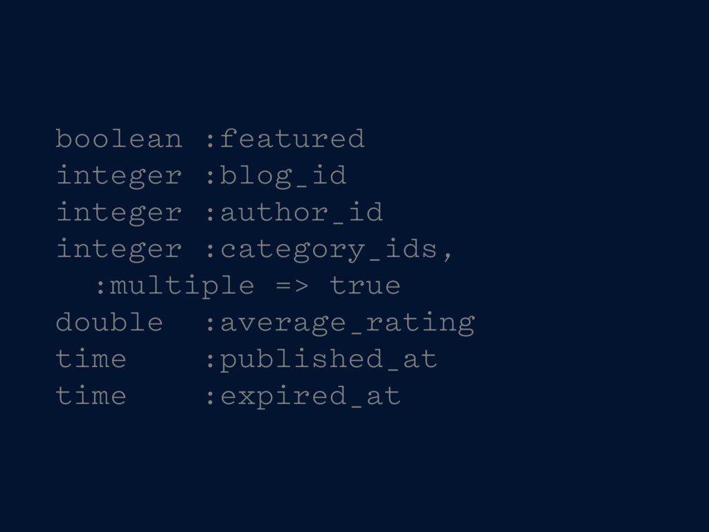 boolean :featured integer :blog_id integer :aut...