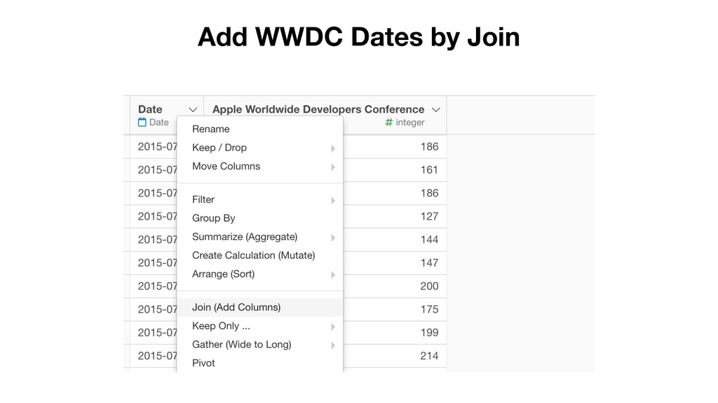 Add WWDC Dates by Join