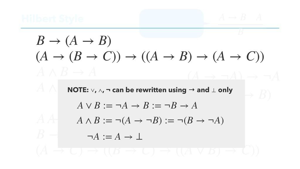 (A → C) → ((B → C) → ((A ∨ B) → C)) A → A ∨ B B...