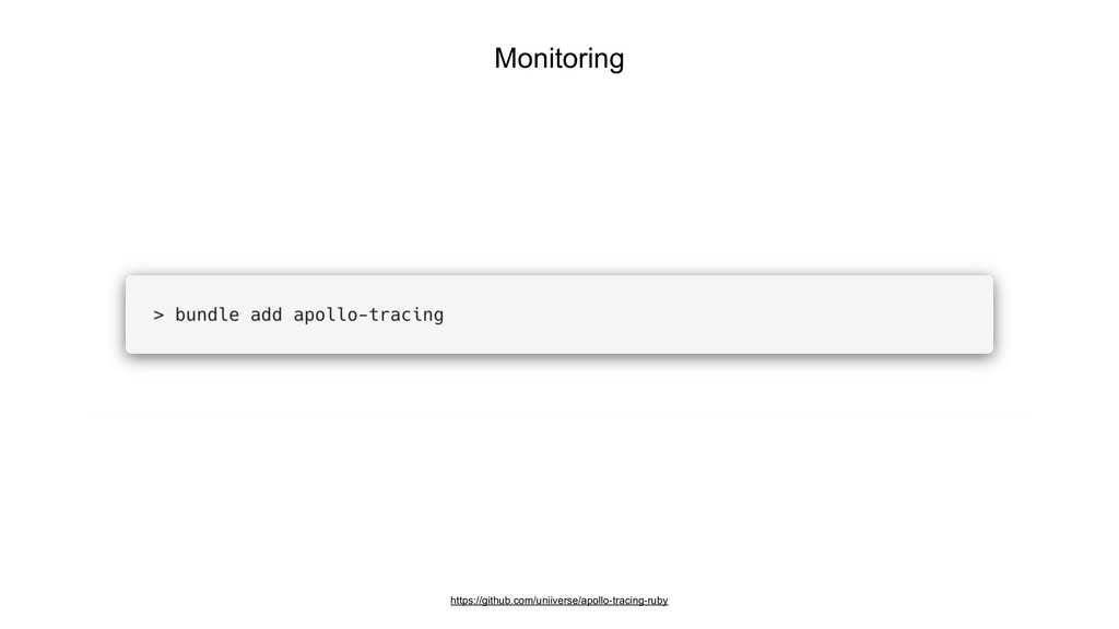 Monitoring https://github.com/uniiverse/apollo-...