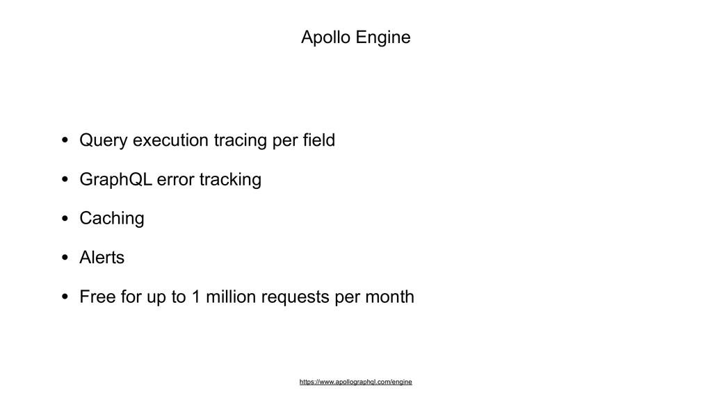 Apollo Engine https://www.apollographql.com/eng...