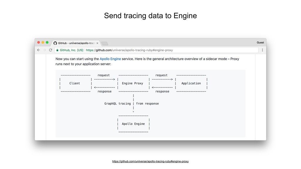 Send tracing data to Engine https://github.com/...