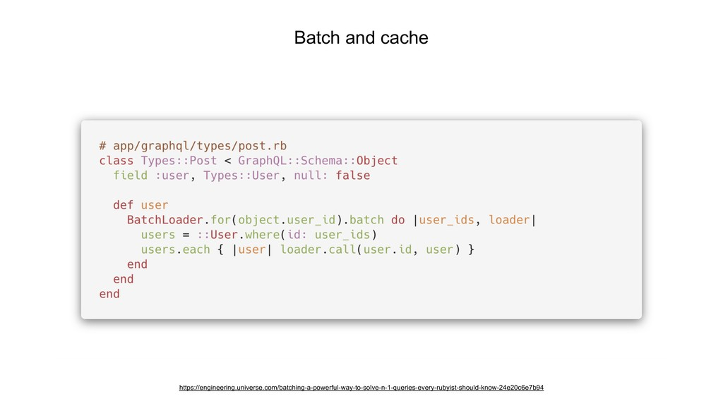 Batch and cache https://engineering.universe.co...